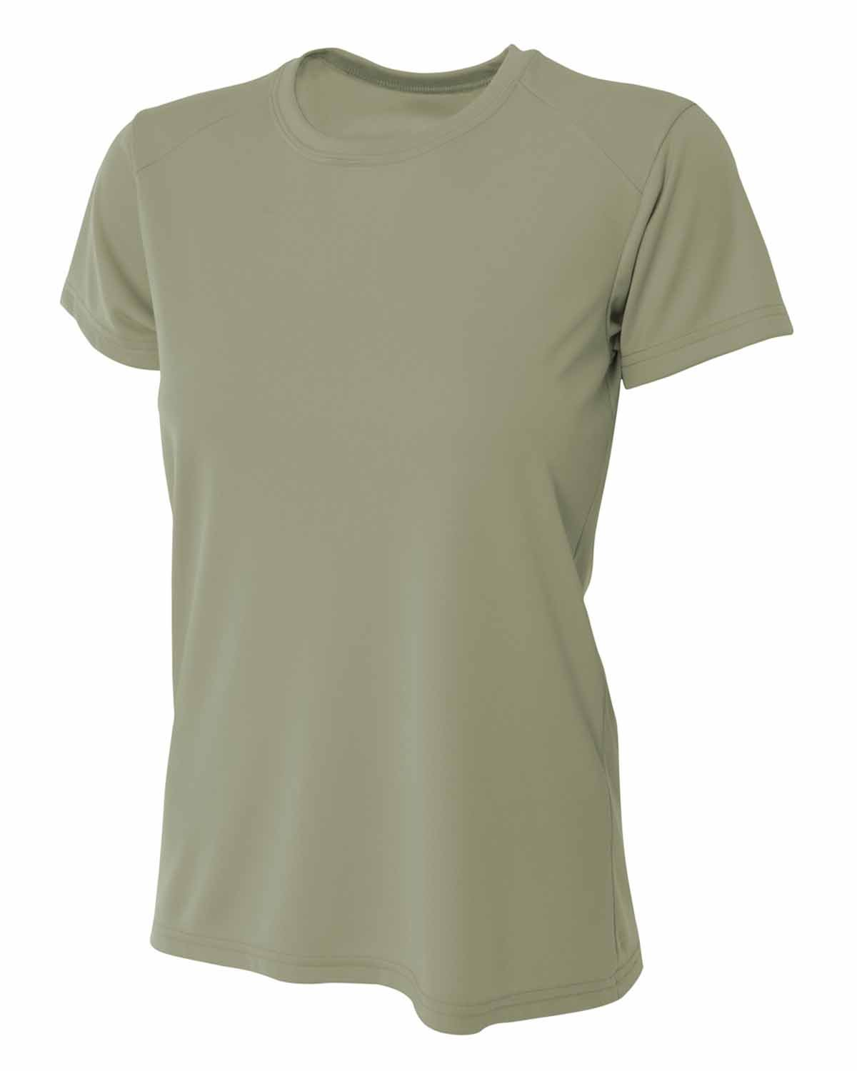 A4 Ladies' Cooling Performance T-Shirt OLIVE