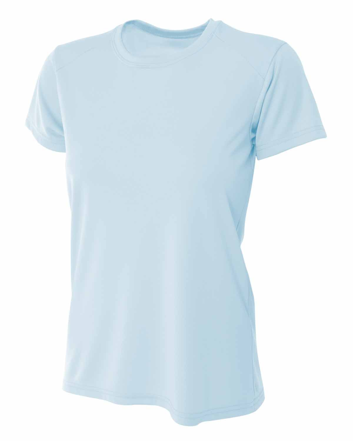 A4 Ladies' Cooling Performance T-Shirt PASTEL BLUE