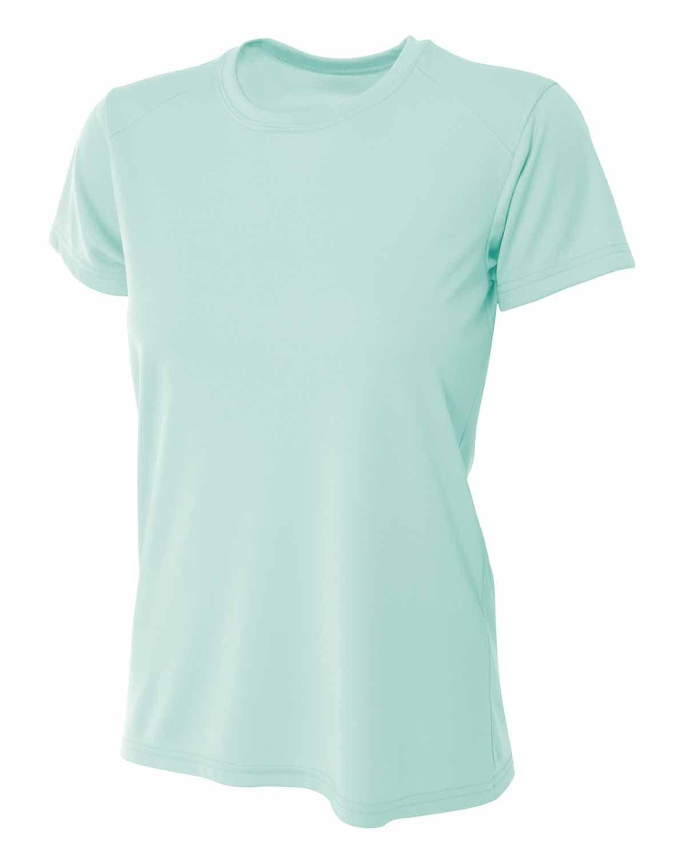 A4 Ladies' Cooling Performance T-Shirt PASTEL MINT