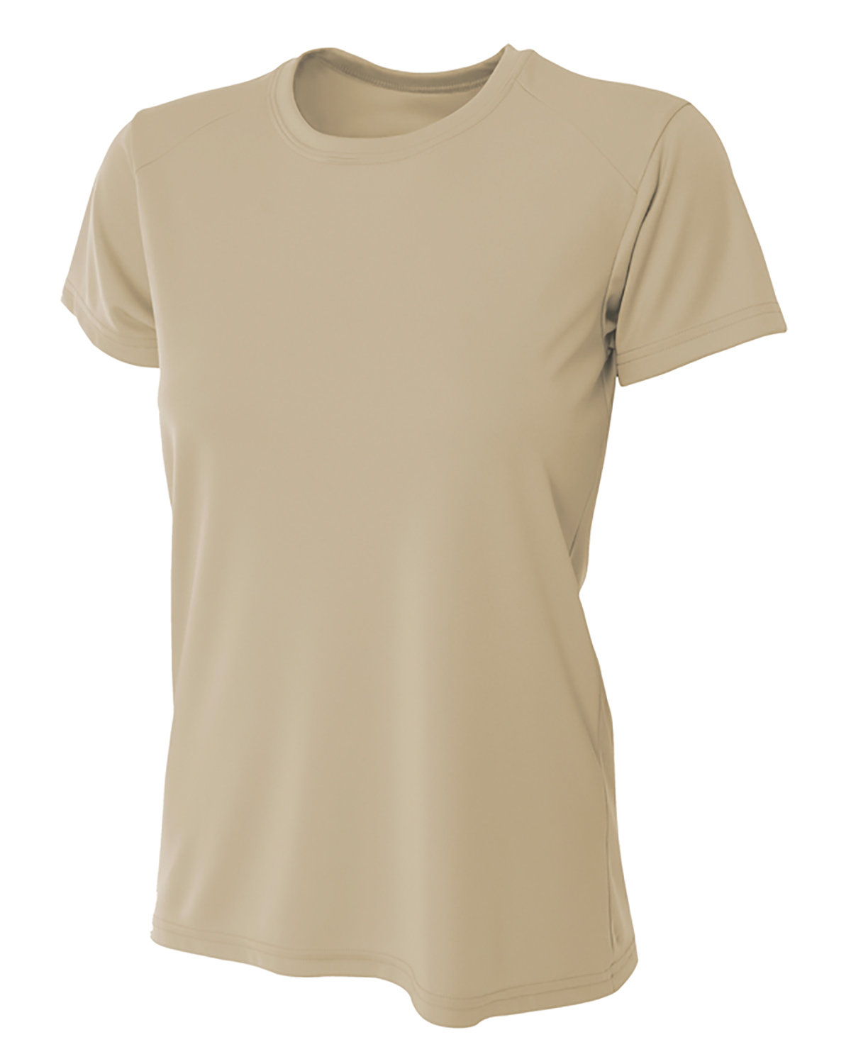 A4 Ladies' Cooling Performance T-Shirt SAND