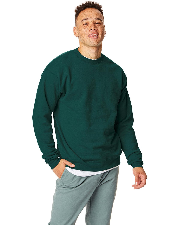 Hanes Unisex Ecosmart® 50/50 Crewneck Sweatshirt DEEP FOREST
