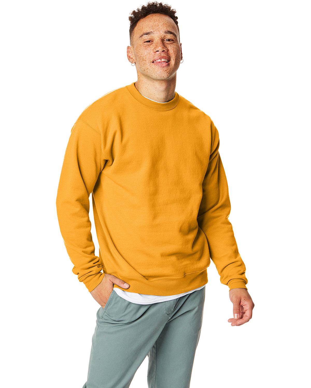 Hanes Unisex Ecosmart® 50/50 Crewneck Sweatshirt GOLD