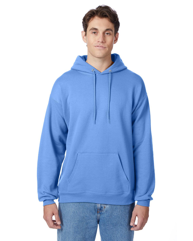 Hanes Unisex Ecosmart® 50/50 Pullover Hooded Sweatshirt CAROLINA BLUE