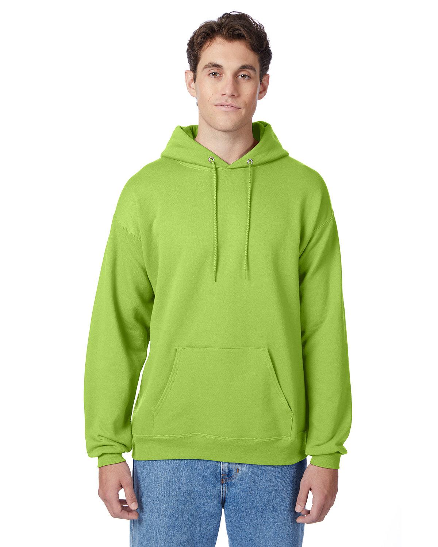 Hanes Unisex Ecosmart® 50/50 Pullover Hooded Sweatshirt LIME