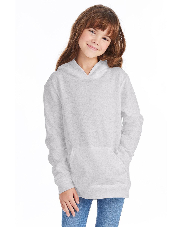 Hanes Youth EcoSmart® 50/50 Pullover Hooded Sweatshirt ASH