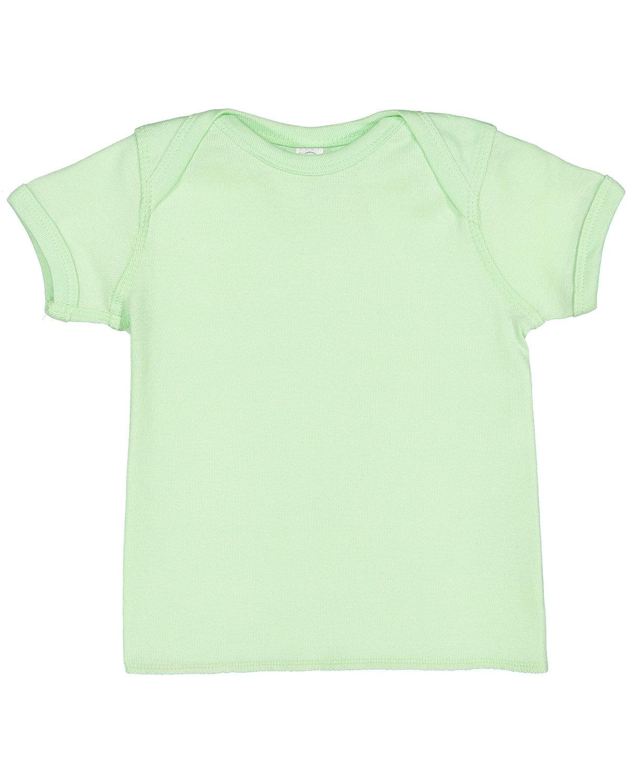 Rabbit Skins Infant Baby Rib T-Shirt MINT
