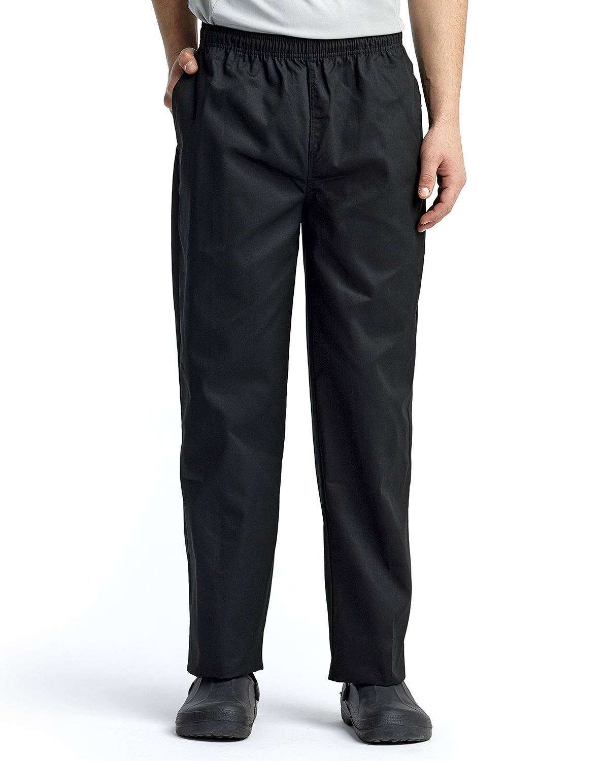 Artisan Collection by Reprime Unisex Essential Chef's Pant BLACK