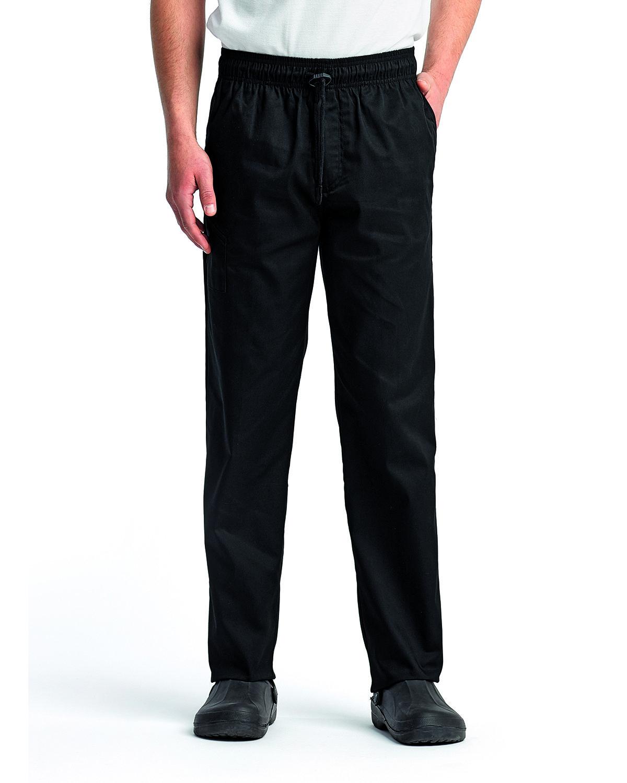 Artisan Collection by Reprime Unisex Chef's Select Slim Leg Pant BLACK
