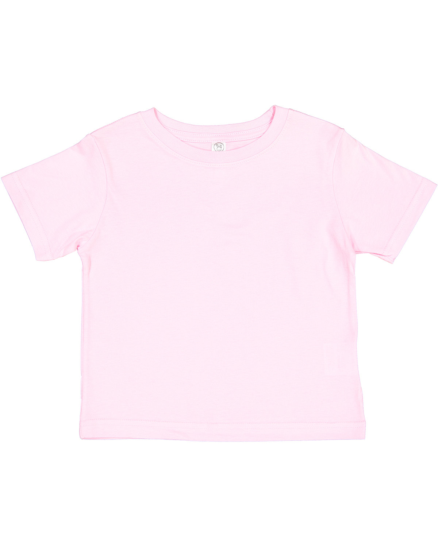 Rabbit Skins Toddler Cotton Jersey T-Shirt PINK