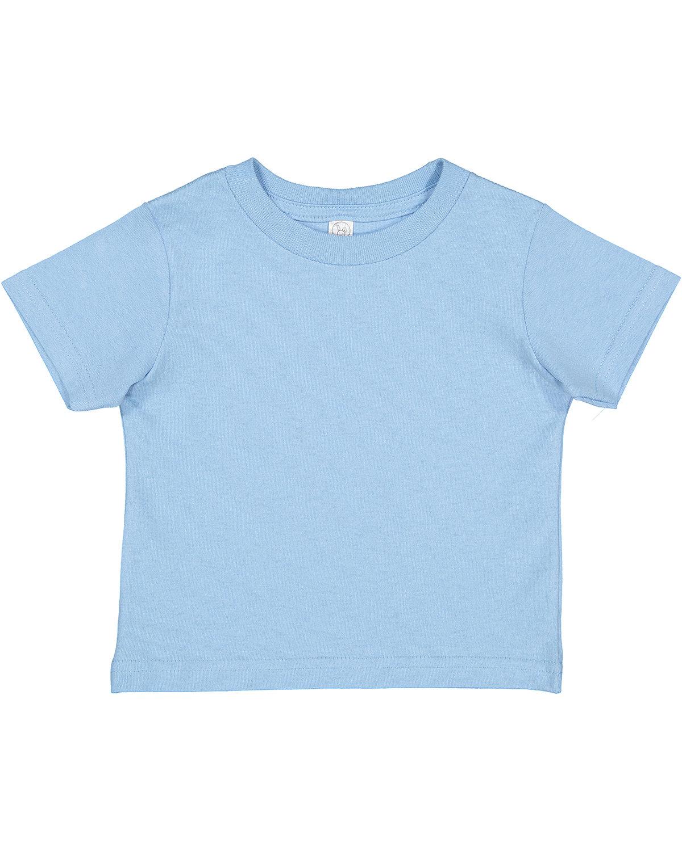 Rabbit Skins Toddler Cotton Jersey T-Shirt LIGHT BLUE