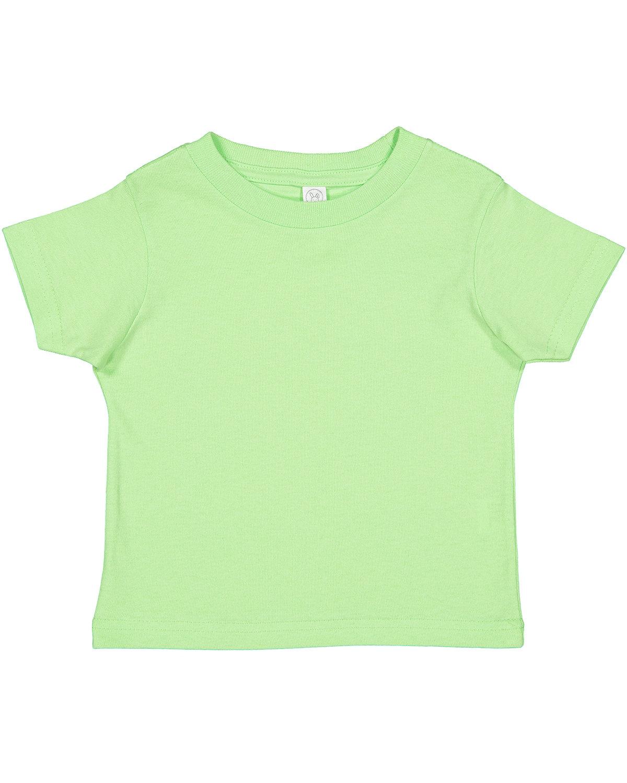 Rabbit Skins Toddler Cotton Jersey T-Shirt KEY LIME