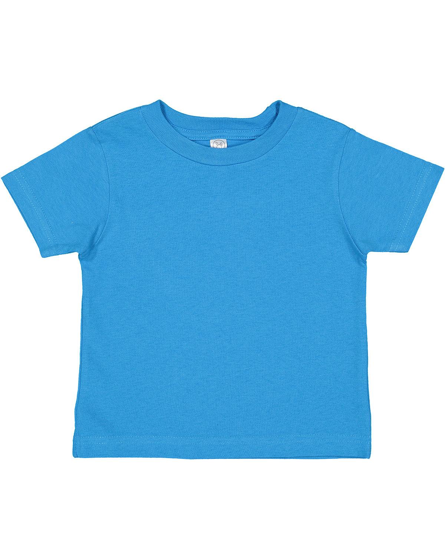 Rabbit Skins Toddler Cotton Jersey T-Shirt COBALT