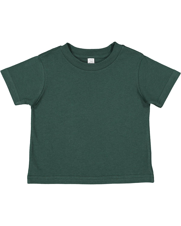 Rabbit Skins Toddler Cotton Jersey T-Shirt FOREST
