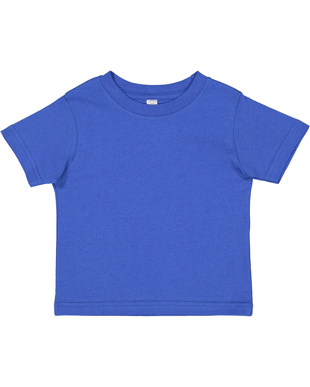 Rabbit Skins Toddler Cotton Jersey T-Shirt ROYAL