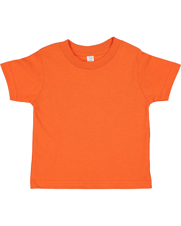 Rabbit Skins Toddler Cotton Jersey T-Shirt ORANGE