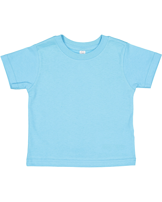 Rabbit Skins Toddler Cotton Jersey T-Shirt AQUA