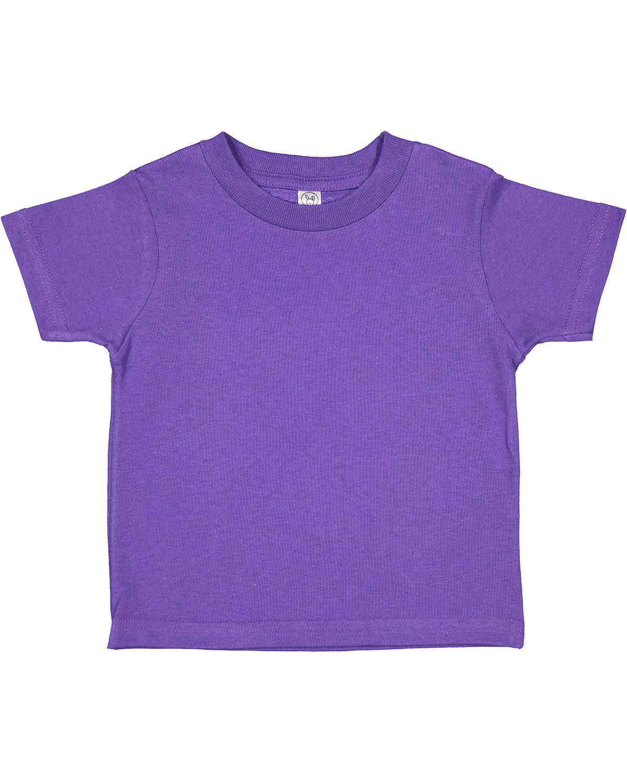 Rabbit Skins Toddler Cotton Jersey T-Shirt PURPLE