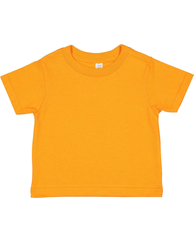 Rabbit Skins Toddler Cotton Jersey T-Shirt MANDARIN