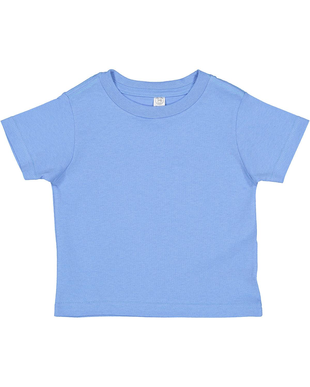 Rabbit Skins Toddler Cotton Jersey T-Shirt CAROLINA BLUE