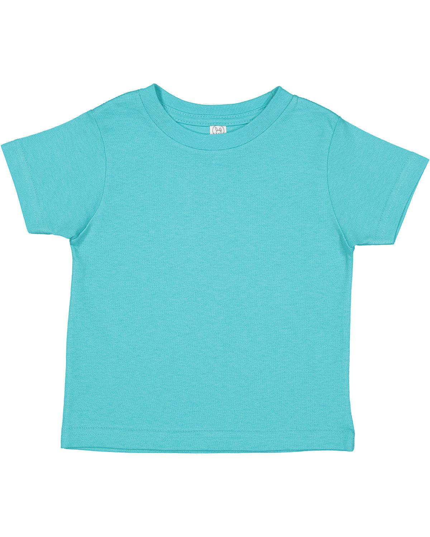 Rabbit Skins Toddler Cotton Jersey T-Shirt CARIBBEAN