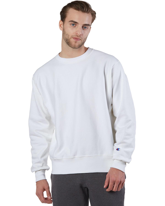 Champion Adult Reverse Weave® Crew WHITE