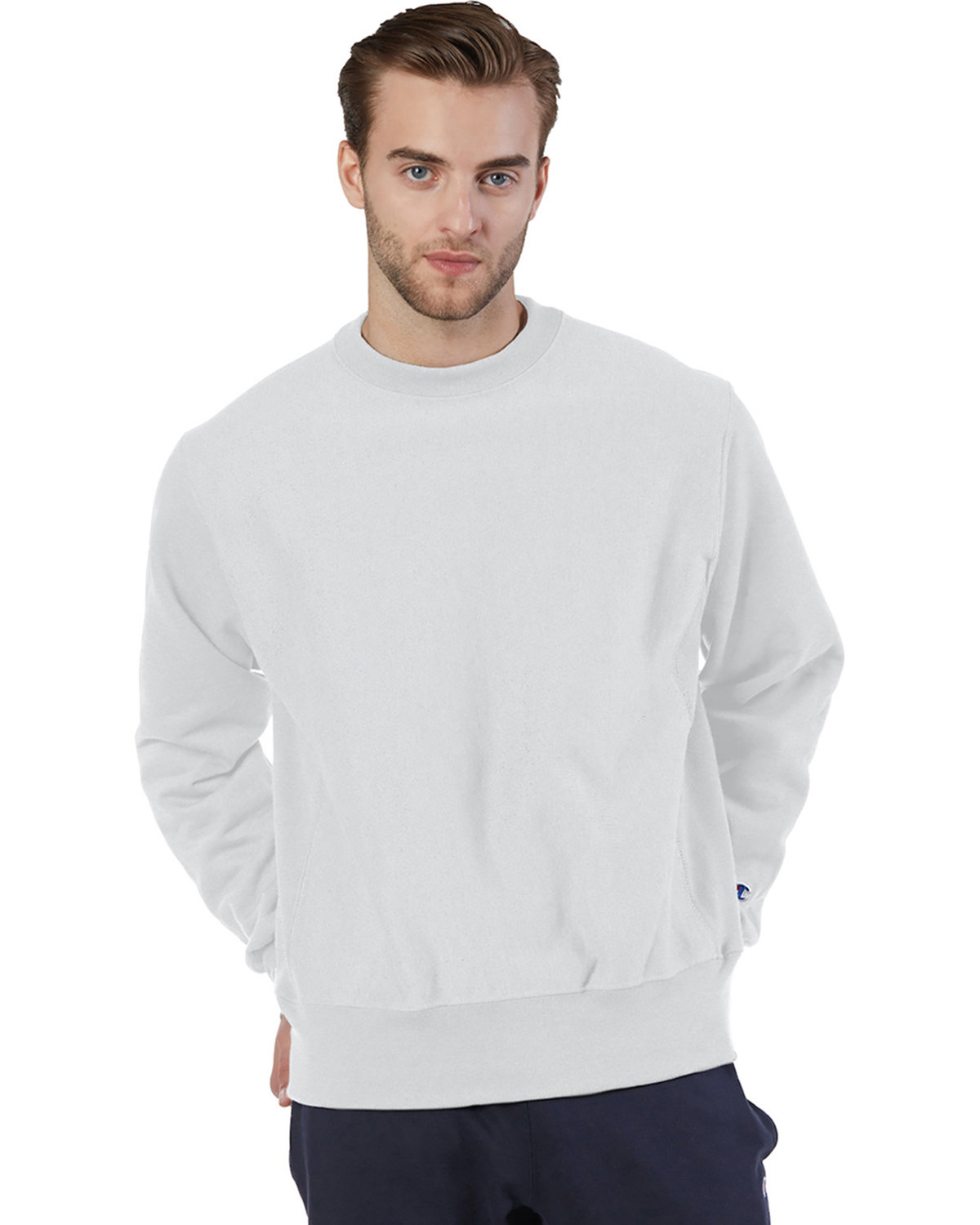 Champion Adult Reverse Weave® Crew SILVER GRAY
