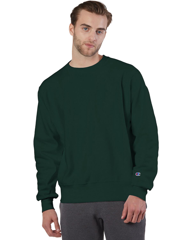 Champion Adult Reverse Weave® Crew DARK GREEN