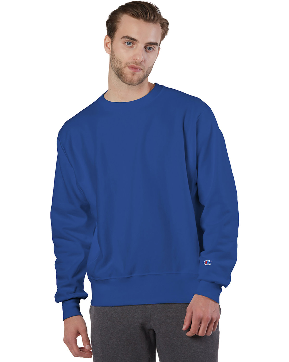 Champion Adult Reverse Weave® Crew ATHLETIC ROYAL