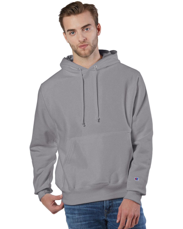 Champion Reverse Weave® Pullover Hooded Sweatshirt STONE GRAY