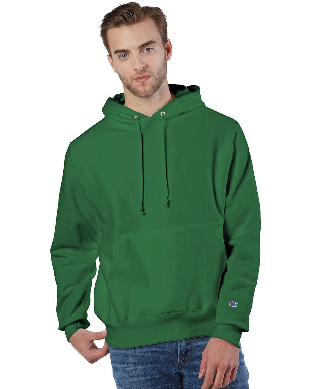 Champion Reverse Weave® Pullover Hooded Sweatshirt KELLY GREEN