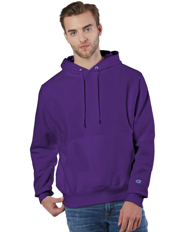 Champion Reverse Weave® Pullover Hooded Sweatshirt PURPLE