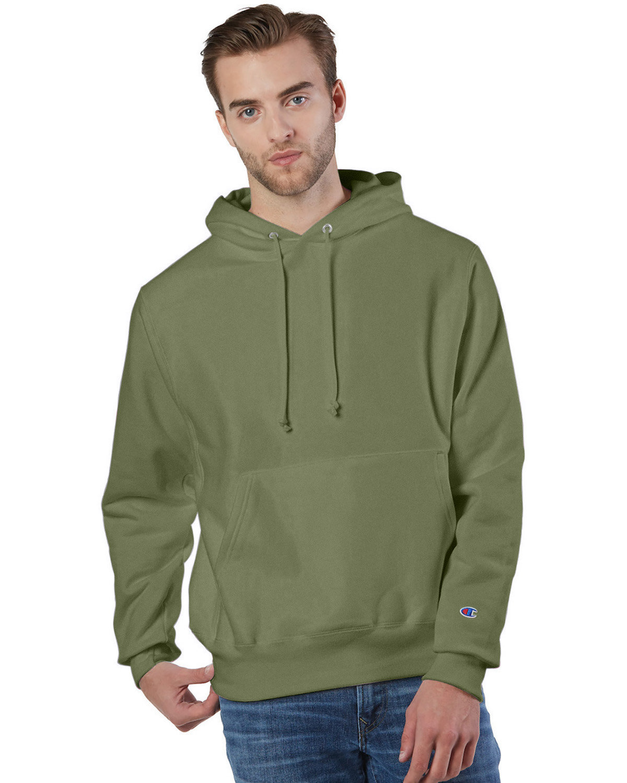 Champion Reverse Weave® Pullover Hooded Sweatshirt FRESH OLIVE