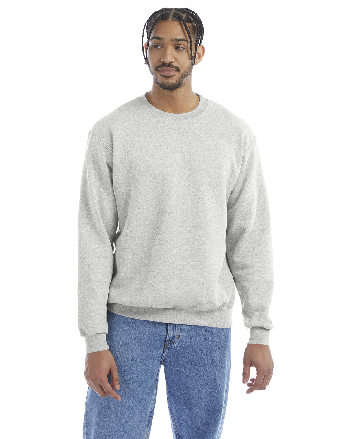 Champion Adult Double Dry Eco® Crew SILVER GREY