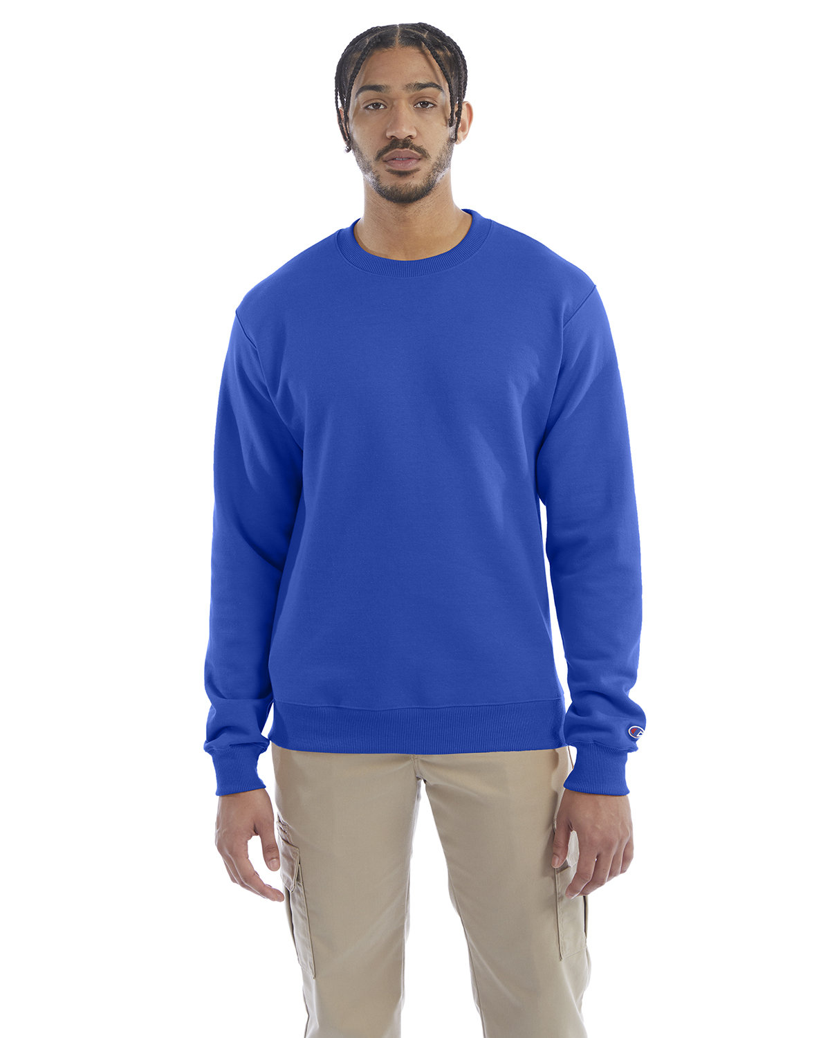 Champion Adult Double Dry Eco® Crew ROYAL BLUE