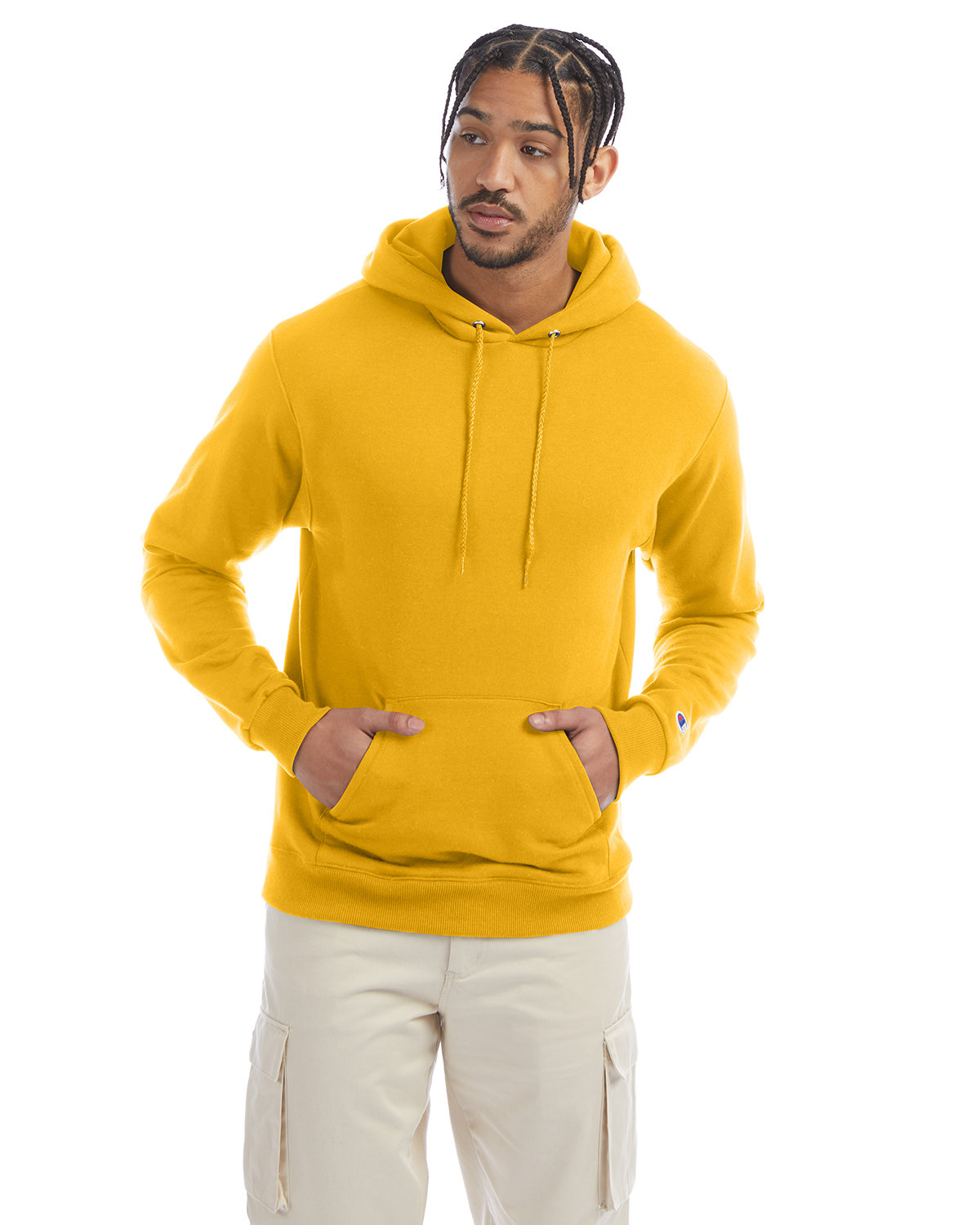 Champion Adult Double Dry Eco® Pullover Hooded Sweatshirt GOLD