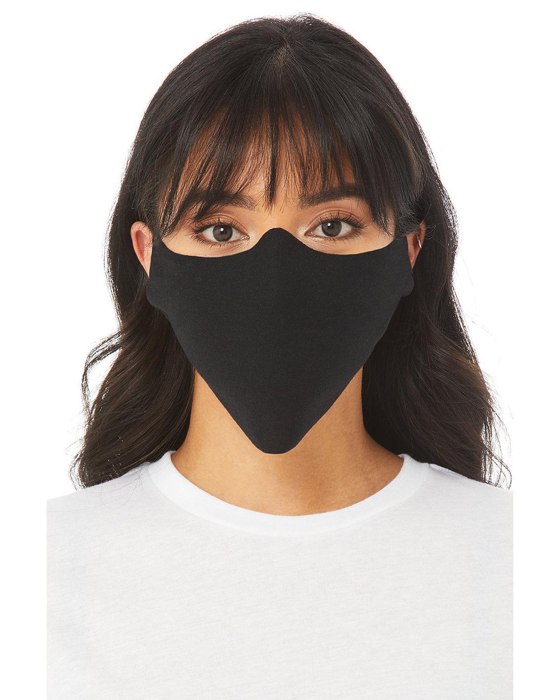 Bella + Canvas Adult Lightweight Cotton Face Mask BLACK