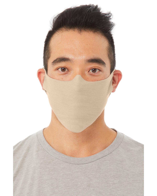 Bella + Canvas Adult Lightweight Cotton Face Mask TAN