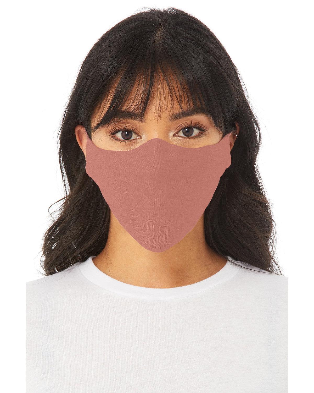 Bella + Canvas Adult Lightweight Cotton Face Mask MAUVE