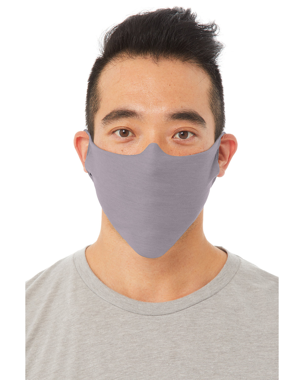 Bella + Canvas Adult Lightweight Cotton Face Mask STORM