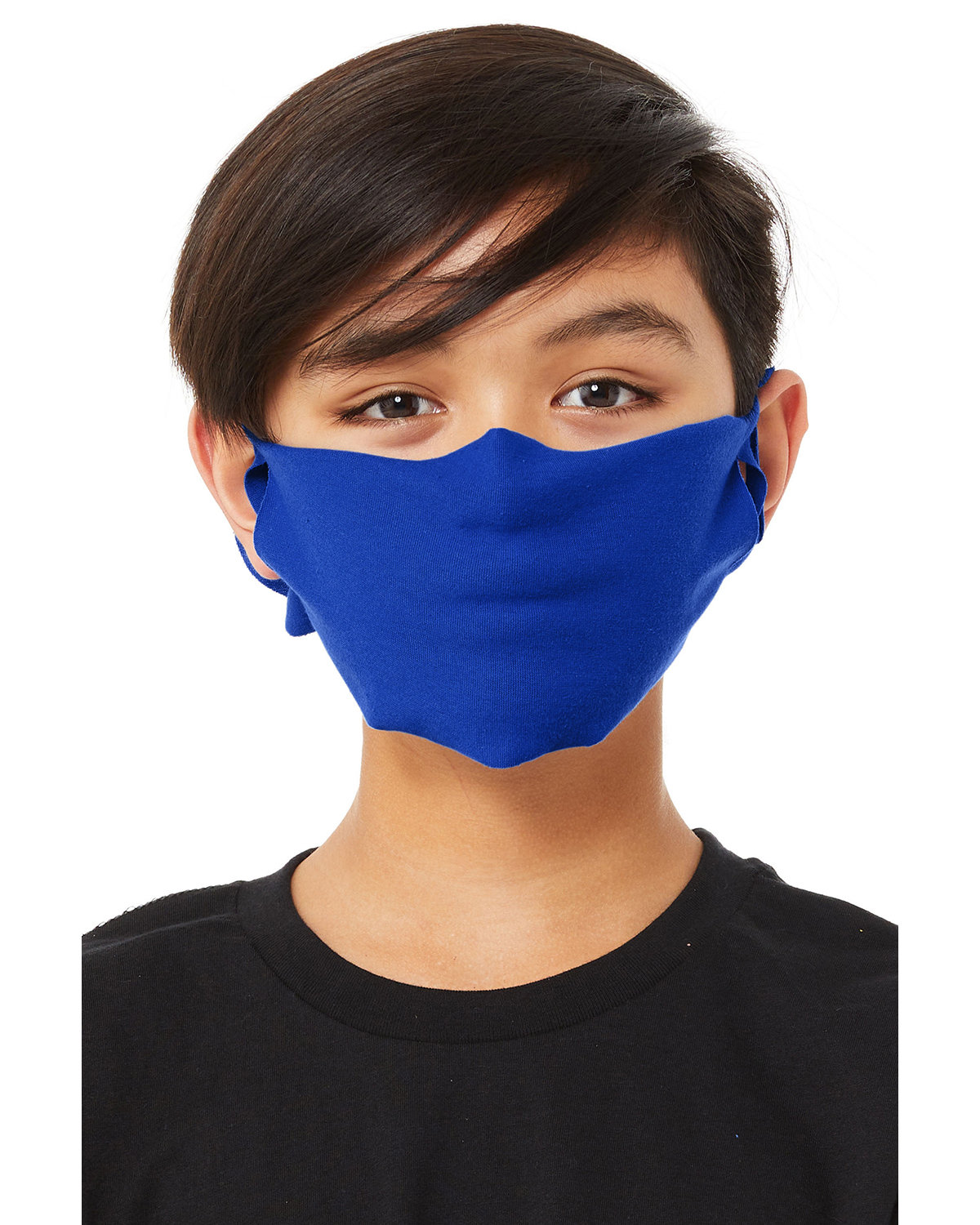 Bella + Canvas Youth Lightweight Fabric Face Mask TRUE ROYAL