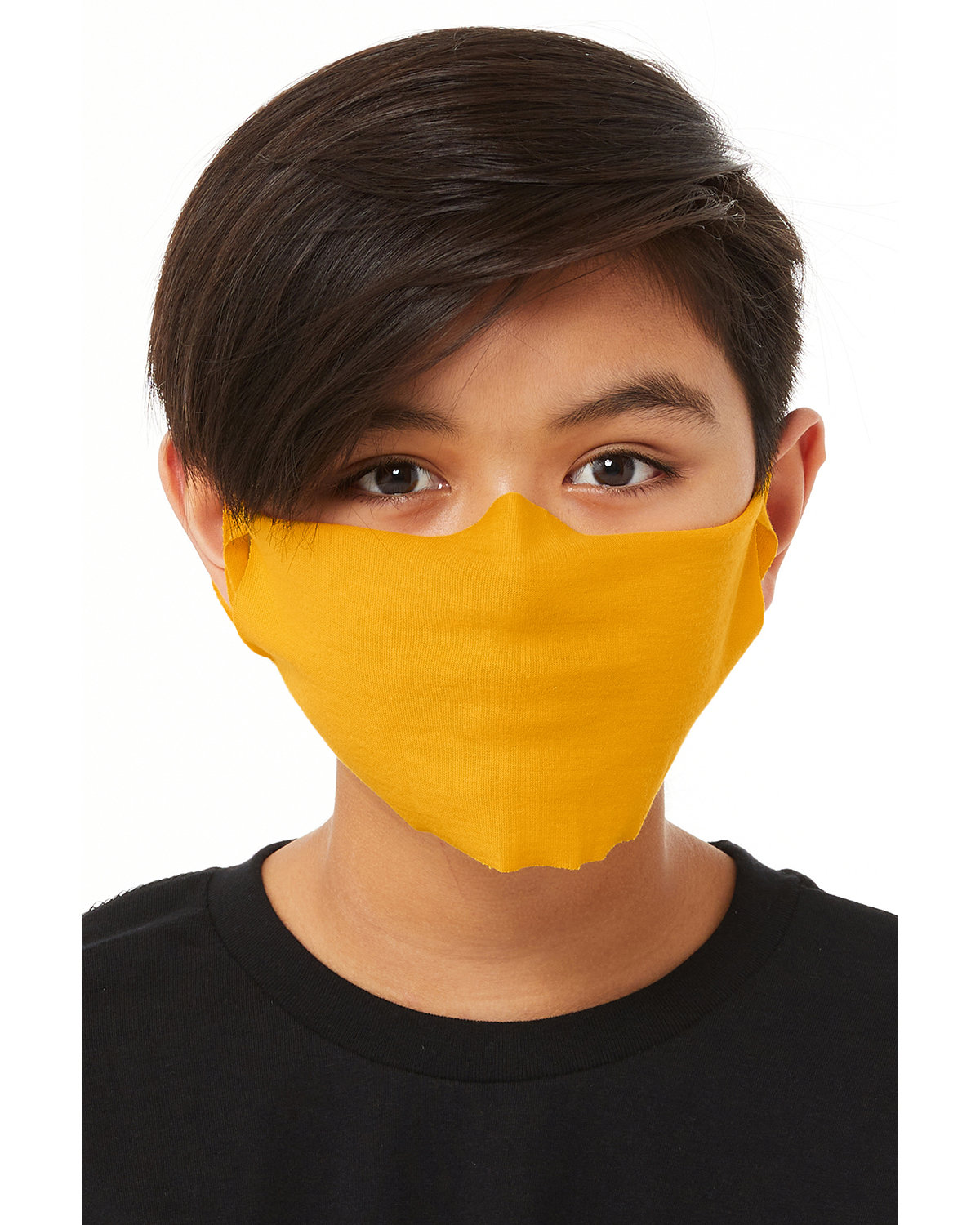 Bella + Canvas Youth Lightweight Fabric Face Mask GOLD