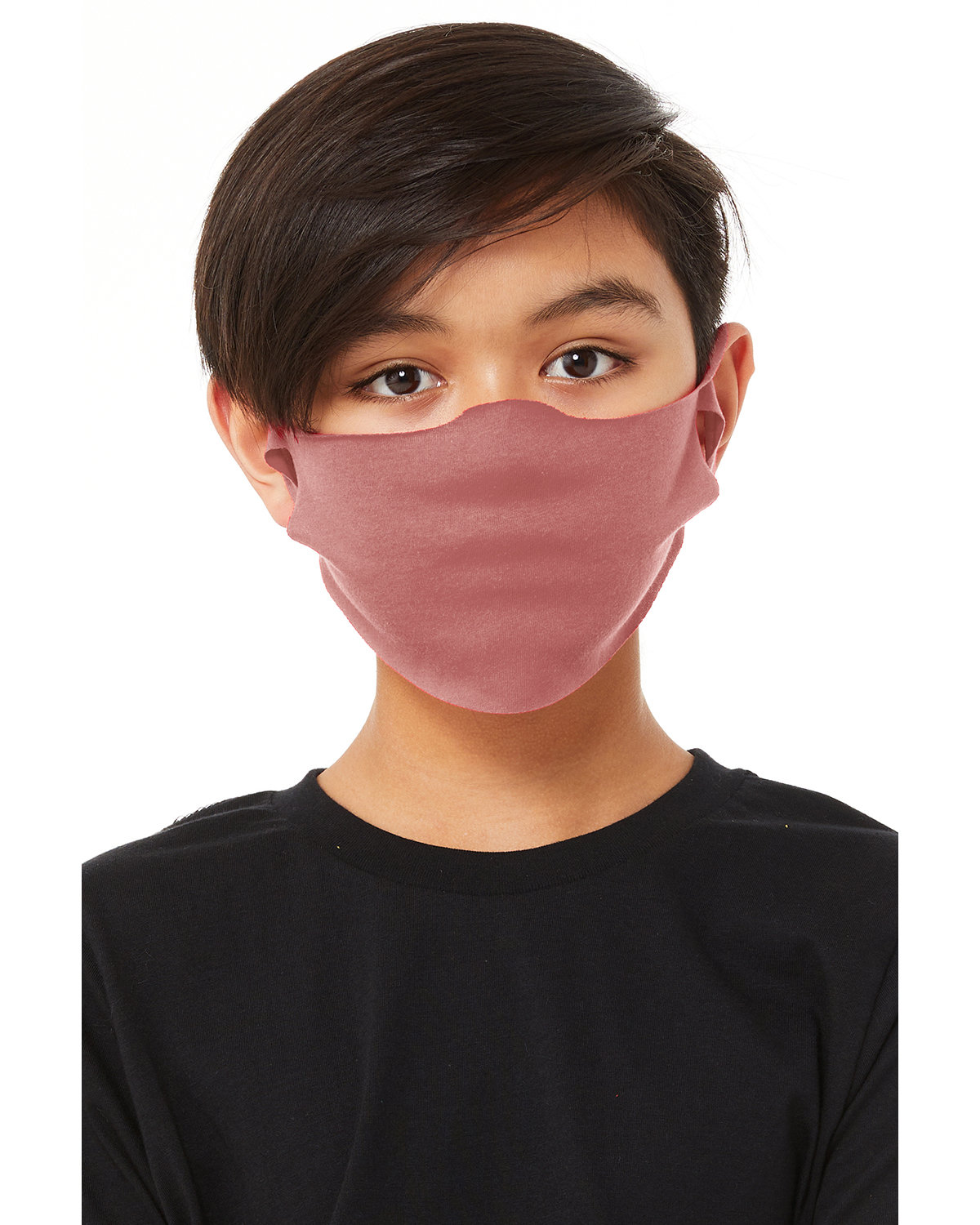 Bella + Canvas Youth Lightweight Fabric Face Mask MAUVE