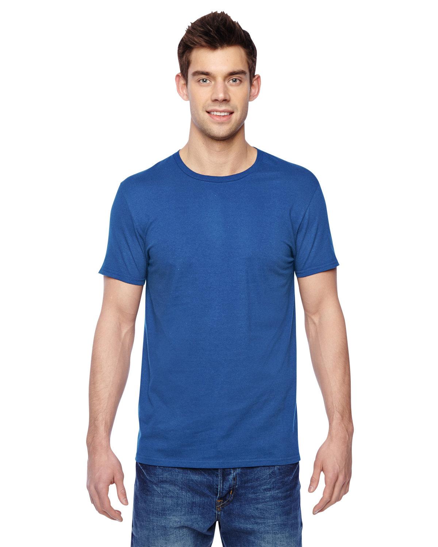 Fruit of the Loom Adult Sofspun® Jersey Crew T-Shirt ROYAL