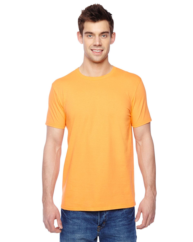 Fruit of the Loom Adult Sofspun® Jersey Crew T-Shirt GOLD