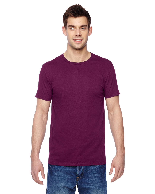 Fruit of the Loom Adult Sofspun® Jersey Crew T-Shirt WILD PLUM