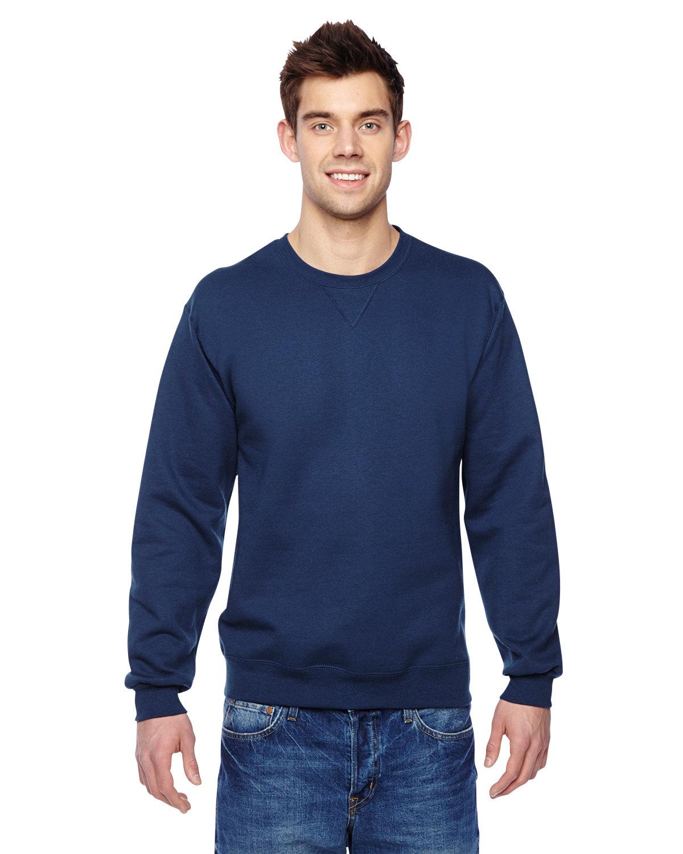 Fruit of the Loom Adult SofSpun® Crewneck Sweatshirt J NAVY