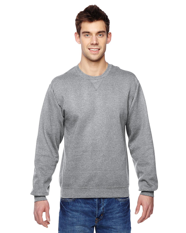 Fruit of the Loom Adult SofSpun® Crewneck Sweatshirt ATHLETIC HEATHER