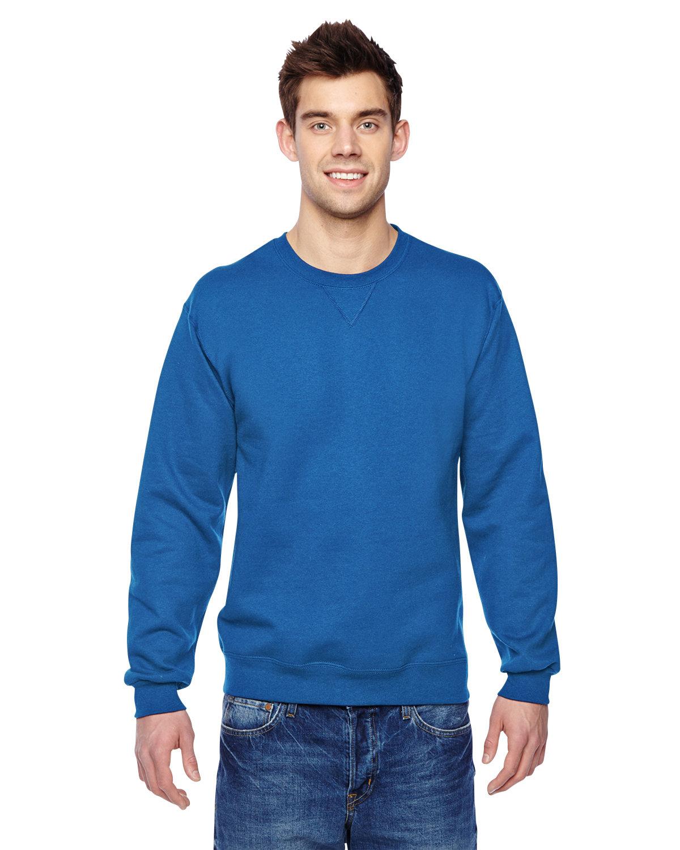 Fruit of the Loom Adult SofSpun® Crewneck Sweatshirt ROYAL