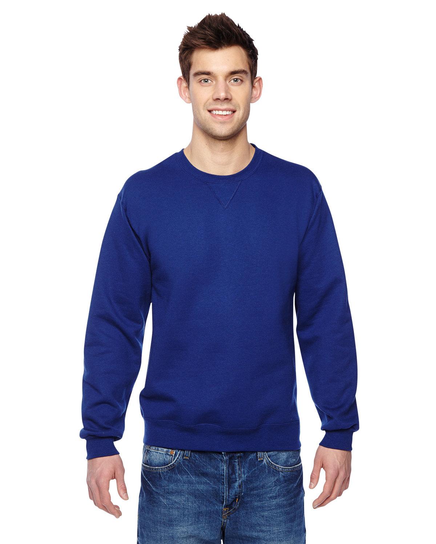 Fruit of the Loom Adult SofSpun® Crewneck Sweatshirt ADMIRAL BLUE