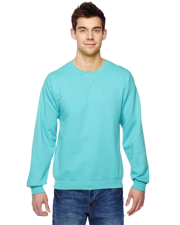 Fruit of the Loom Adult SofSpun® Crewneck Sweatshirt SCUBA BLUE